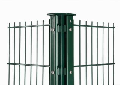 Panelna ograda sa stubom