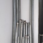 okrugli cinkovani stubovi