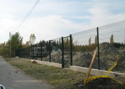 3D panelna ograda sa kapijom