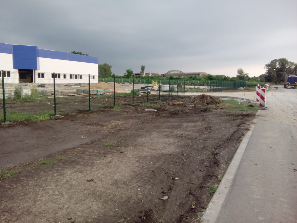 panelne ograde zelene