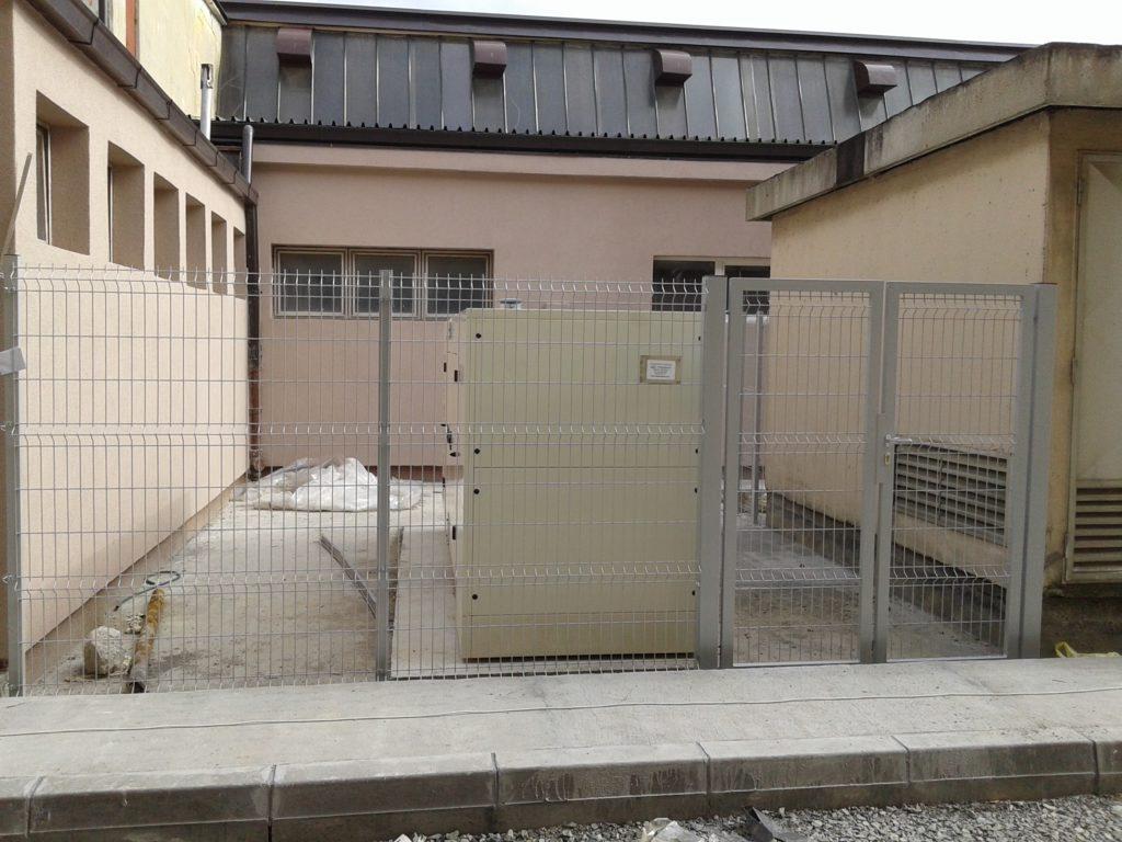 panelne ograde sa vratima