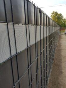 2d panelna ograda i pvc traka