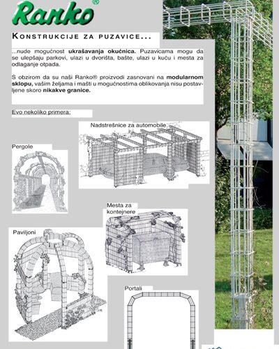konstrukcija za puzavicu